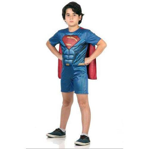 Imagem de Fantasia Super Homem Curto M 10893 - Sulamericana