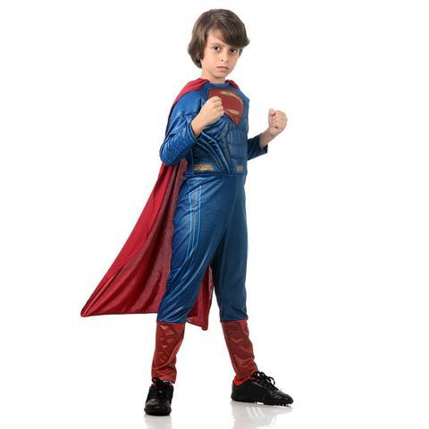 Imagem de Fantasia Super Homem Luxo P 20891 - Sulamericana