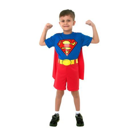 Imagem de Fantasia Super Homem M - SulAmericana