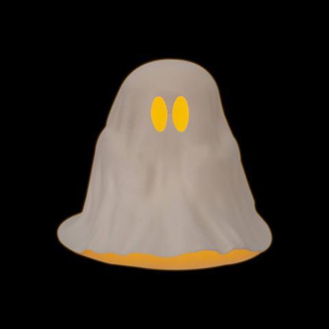 Imagem de Fantasma com Vela de Led Halloween