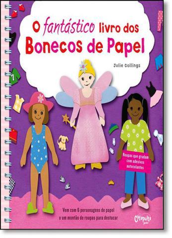 Imagem de Fantastico Livro dos Bonecos de Papel, O