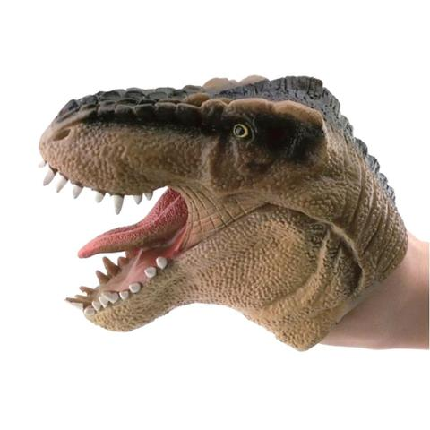 Imagem de Fantoche Dinossauro Marrom Ref.3731 - DTC