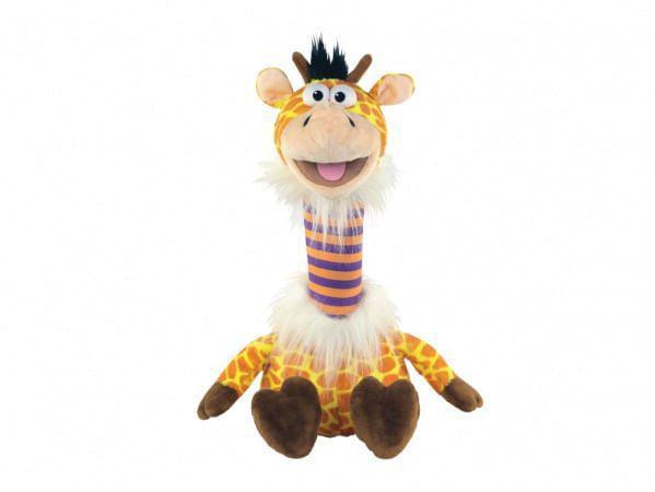 Imagem de Fantoche Pet Repet Zoo - Girafa - Dtc