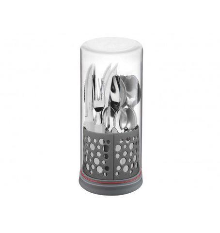 Imagem de Faqueiro Inox Tramontina 27pçs Tulum Multiply Off White