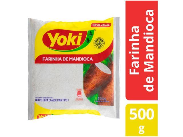 Imagem de Farinha de Mandioca Crua Seca Yoki 500g