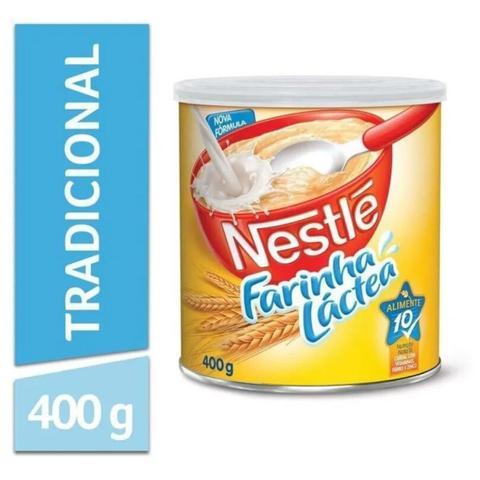 Imagem de Farinha Láctea Tradicional Nestlé 400g - Combo 05 Unidades