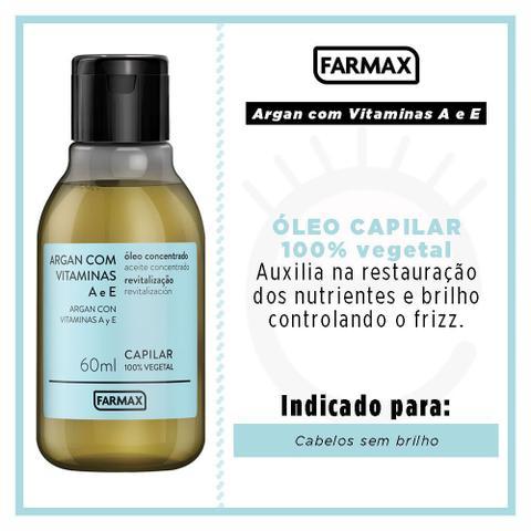 Imagem de Farmax Argan com Vitaminas - Óleo Capilar Concentrado