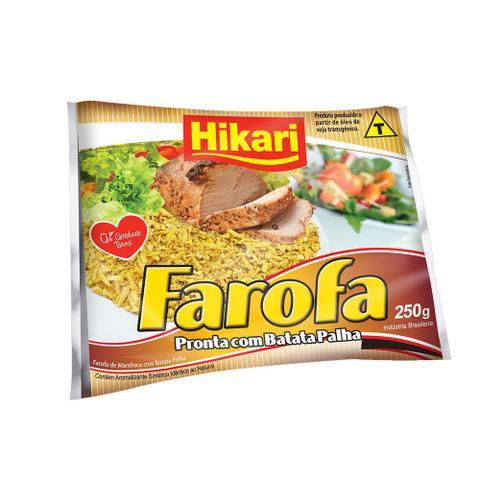 Imagem de Farofa com Batata Palha 250g 1 Pacote Hikari