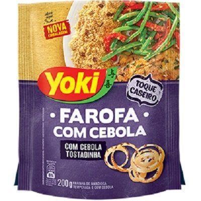 Imagem de Farofa com Cebola 200g 1 Pacote Yoki