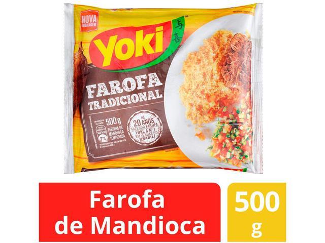 Imagem de Farofa de Mandioca Temperada Yoki Tradicional - 500g