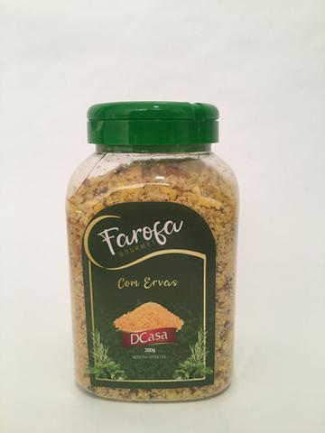 Imagem de Farofa gourmet com Ervas. Dcasa alimentos