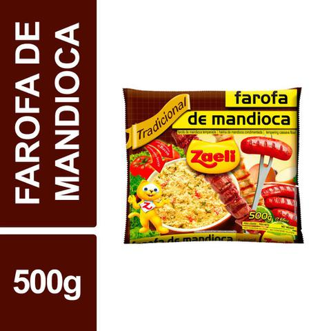 Imagem de Farofa Mandioca Tradicional Zaeli 500g Pacote