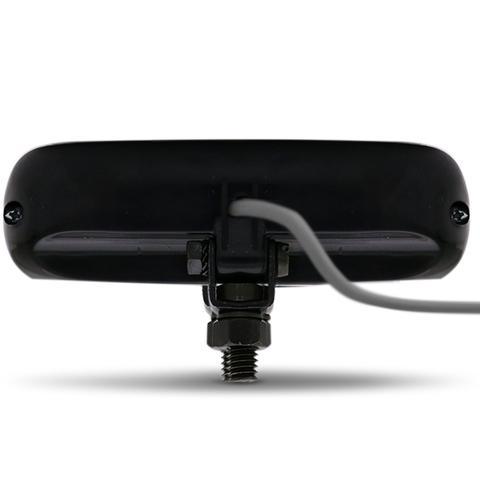 Imagem de Farol de Milha Auxiliar Retangular LED New Slim Universal 4 LEDs 12V 24V 4W Todas as Cores Autopoli