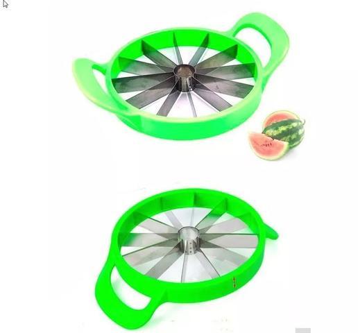 Imagem de Fatiador Cortador De Frutas Melao Melancia Bolos 23cm mms