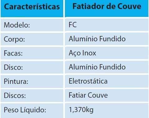 Imagem de Fatiador De Couve Hortaliças Cenoura Legumes Vitalex