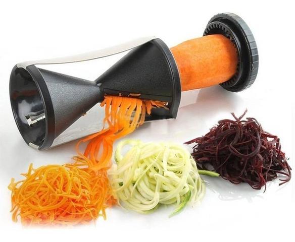 Imagem de Fatiador Legumes Descascador Cortador Espiral Cenoura Pepino
