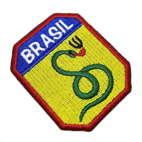 Imagem de FEB Cobra Vai Fumar Patch Bordado Para Uniforme Militar Boné