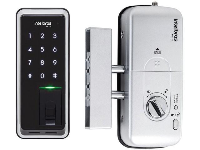 Imagem de Fechadura Digital de Porta Biométrica Intelbras