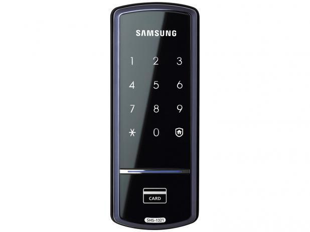 Imagem de Fechadura Eletrônica de sobrepor Samsung SHS 1321