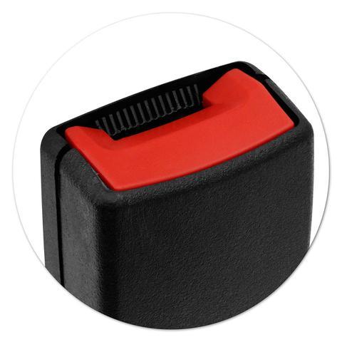 Imagem de Fecho Haste Fêmea Cinto de Segurança Gol G3 00 a 05 Fox 03 a 14 Preto Dianteiro Ideal para Reposição