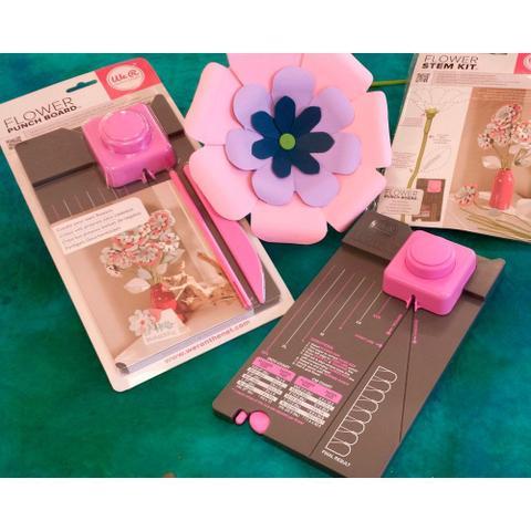 Imagem de Ferramenta para Corte e Vinco Flores - We R Memory Keepers Flowers Punch Board - 71342-5