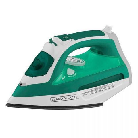 Imagem de Ferro a Vapor Black  Decker AJ3030, Verde, 470 ml, Ceramic Gliss, 110V