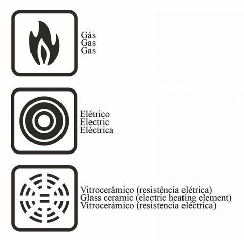 Imagem de Fervedor Alumínio Antiaderente 1,8L Versalhes Tramontina Preto