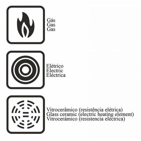 Imagem de Fervedor Alumínio Antiaderente 1,9L Mônaco Tramontina Vermelho