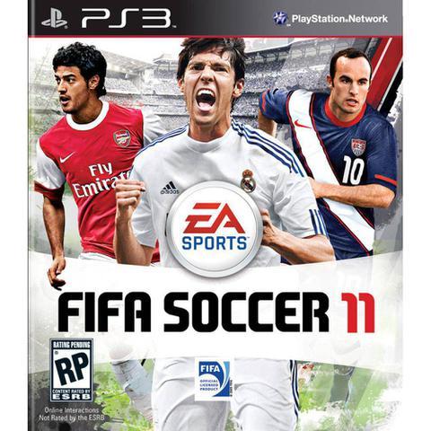 Jogo Fifa SoCCEr 11 - Playstation 3 - Ea Sports