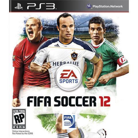 Jogo Fifa 12 - Playstation 3 - Ea Sports