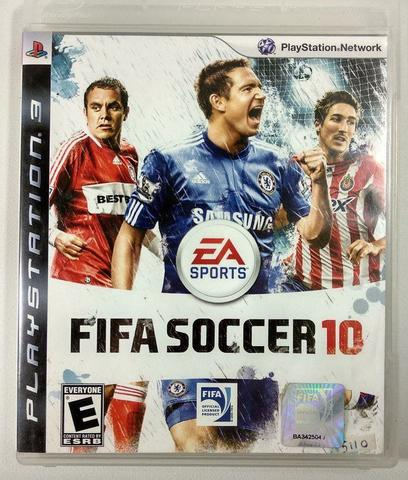 Jogo Fifa SoCCEr 10 - Playstation 3 - Ea Sports