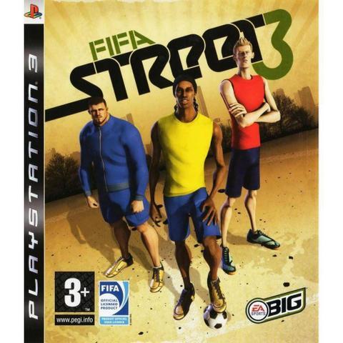 Jogo Fifa Street 3 - Playstation 3 - Ea Sports