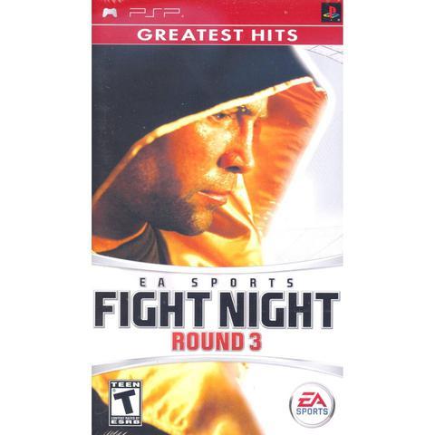 Jogo Fight Night Round 3 - Psp - Ea Sports