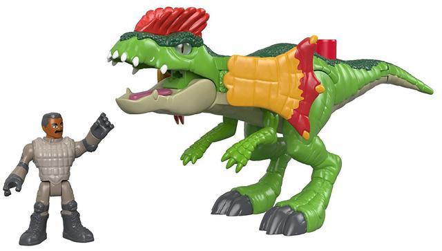 Imagem de Figura Básica Imaginext - Jurassic World 2 - DILOFOSSAURO