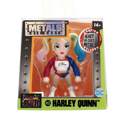 Imagem de Figura Colecionável 6 Cm - Metals - DC Comics - Suicide Squad - Harley Quinn Clássica - DTC