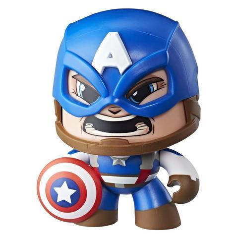 Imagem de Figura Marvel Mighty Muggs Capitão América - E2122 - Hasbro