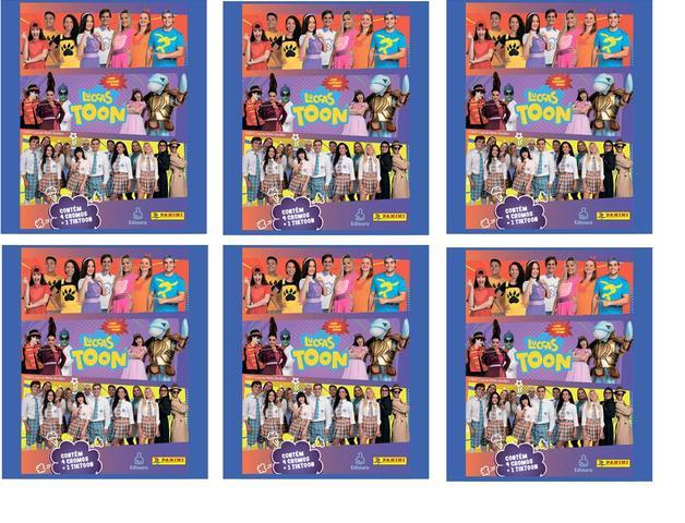 Imagem de Figurinhas Luccas Neto 2 Luccas Toon 120 Figurinha 30 Tiktoons = 30 Envelopes Panini