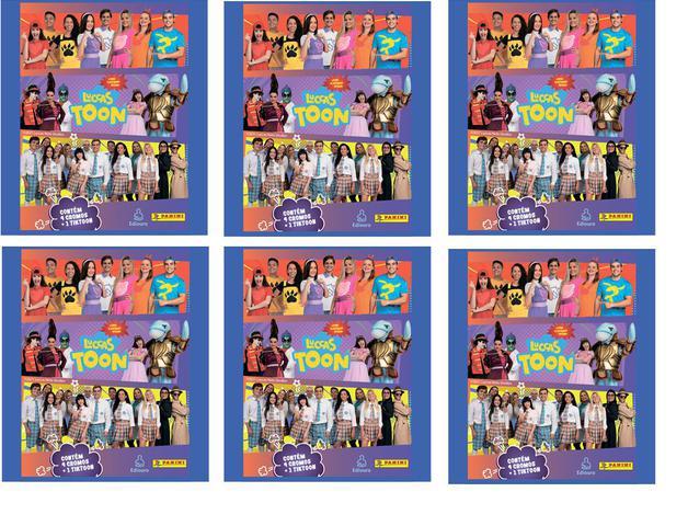 Imagem de Figurinhas Luccas Neto -Luccas Toon 20 envelopes Lacrados = 80 Figurinhas 20 tiktoons Oficial Panini