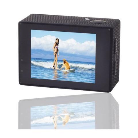 Imagem de Filmadora 4K HD 1080p Câmera Digital 12MP Esporte Capacete Mergulho Moto Amvox ADC 840 Preta - Compatível somente com SD Classe 10 Extreme