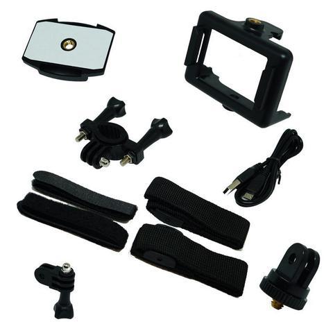 Imagem de Filmadora 4K HD 1080p Câmera Digital 12MP Esporte Capacete Mergulho Moto Amvox ADC 840 Preta