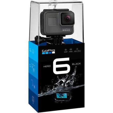 Imagem de Filmadora GoPro Hero6 Black Wi-Fi Bluetooth 12.0MP Vídeo 4K