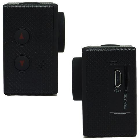 Imagem de Filmadora HD 1080p Câmera Digital 5MP Esporte Capacete Mergulho Moto Amvox ADC 800 Preta Acessórios