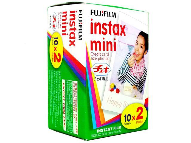 Imagem de Filme Instantâneo Fujifilm Instax Pack 20 Unidades