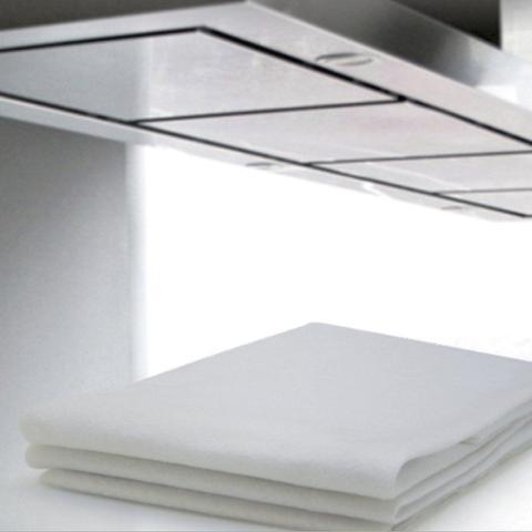 Imagem de Filtro Branco para Coifa/ Exaustor 80x60cm / para fogão de 4 a 6 bocas- 4 unidades