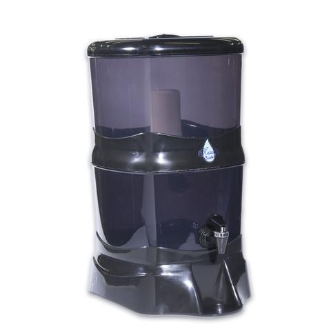 Imagem de Filtro De Água 14 Litros Natália Cristal Preto