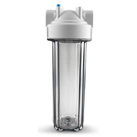 Imagem de Filtro de Água 9.3/4 para Ponto de Entrada com Carcaça em Policarbonato Transparente ¾ Purefer