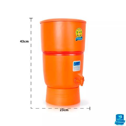 Imagem de Filtro de Água de Barro São João com Vela 4 Litros Produto Premium