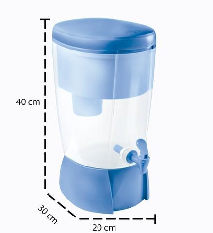 Imagem de Filtro de Água Mais Sap Filtros Azul