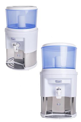 Imagem de Filtro de Agua por Gravidade Vela Carvão Ativado Cor Azul 7L