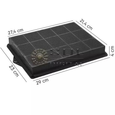 Imagem de Filtro de Carvão Ativado para Coifas Electrolux CV900 e RGI36 (Linha Icon)